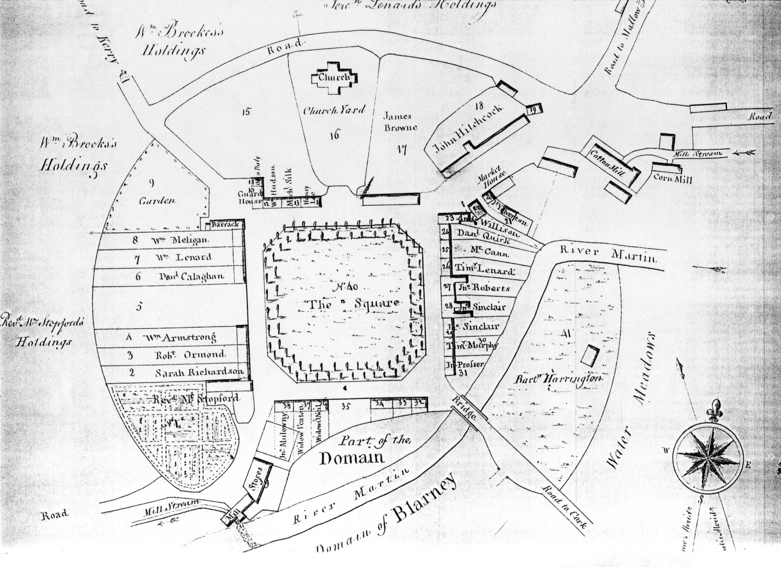 Blarney Village 1801